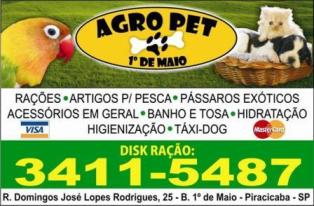 Agro Pet 1° de Maio Piracicaba SP